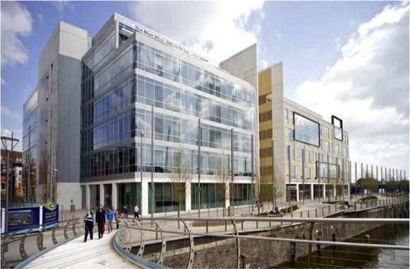 Bristol: Temple Quay, One of the Hubs that DragonGate was involved in.