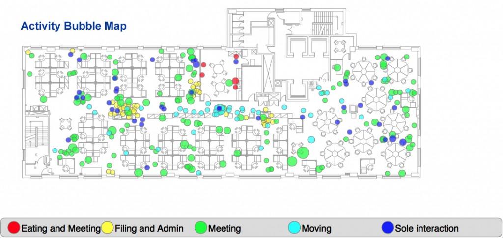 ActivityLOOK Activity Bubble Map