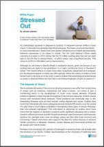 White Paper Workplace Stress Baker Stuart PDF