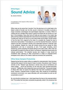 White Paper Office Noise Baker Stuart PDF