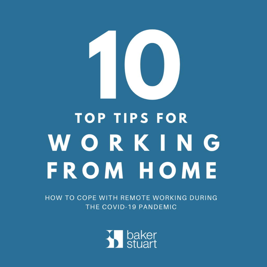 Working from home: How to Cope with Remote Working During the Covid-19 PandemiC