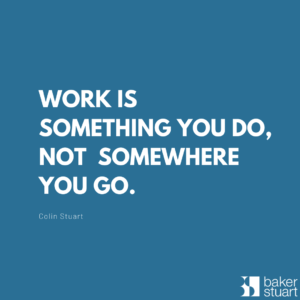 Work is something you do